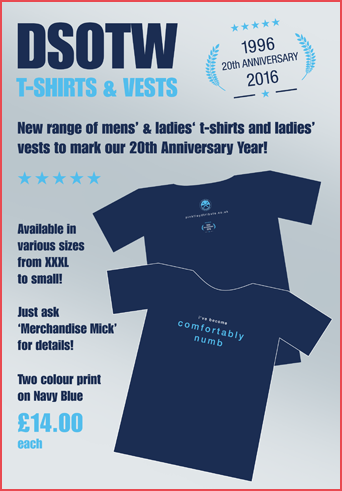 DSOTW 2016 T-shirt Poster